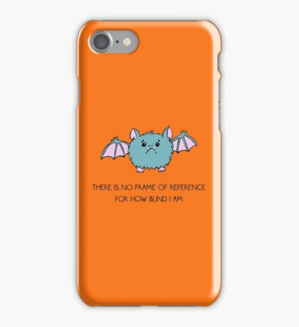 No Frame of Reference iPhone Case/Skin
