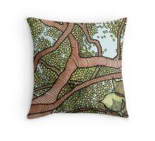 Bodhi Tree Throw Pillow