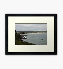 Ardmore Beach Framed Print