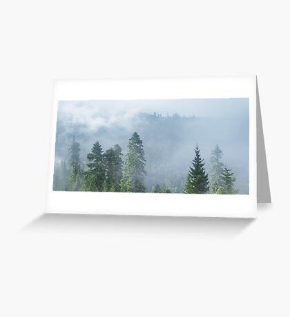 Rolling Fog Greeting Card