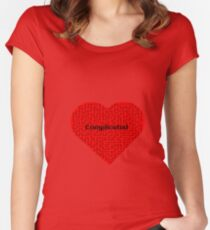 Complicated  Women's Fitted Scoop T-Shirt