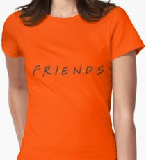 friends. Womens Fitted T-Shirt