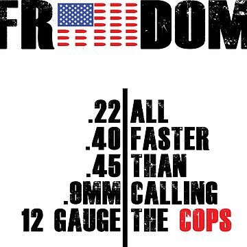 FASTER THAN CALL THE COPS MEN'S TEE by mintytees