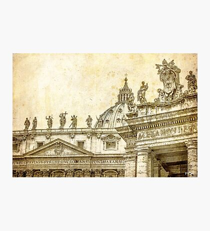 The Art in Vatican Photographic Print