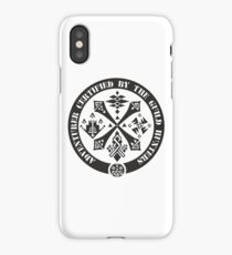 Certified By The Guild of Hunters iPhone Case