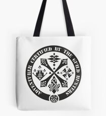 Certified By The Guild of Hunters Tote Bag