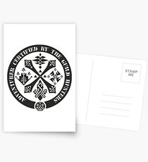 Certified By The Guild of Hunters Postcards