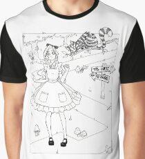 Alicia en el País de las Maravillas (ByN) Graphic T-Shirt