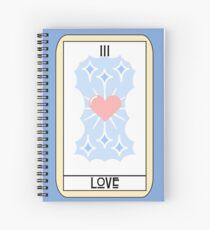 Love (Tarot Card III) Spiral Notebook