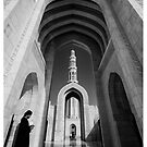 Grand Mosque, Muscat, Oman by Keith Molloy