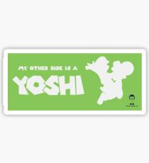 My Other Ride is a Yoshi Sticker