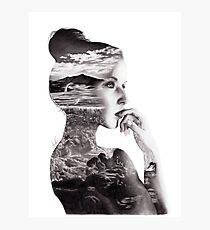 Double Exposure Photographic Print