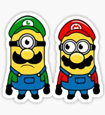 Mario Minions Sticker