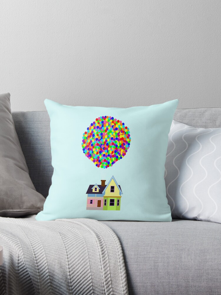 Quot Up House Quot Throw Pillows By Fiag Redbubble