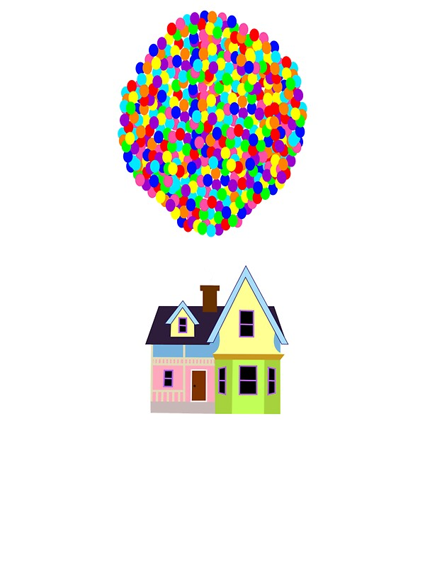 """Up! House"" Stickers by FiaG 