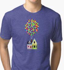 Up! House Tri-blend T-Shirt