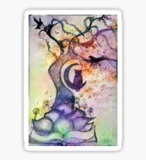 Abstract Willow Tree Sticker