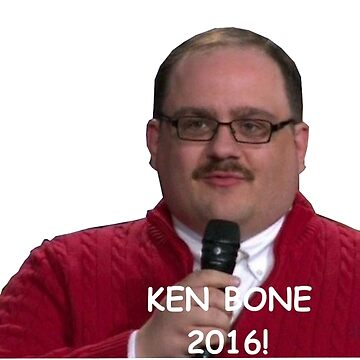 Ken Bone 2016 campaign Shirts, Posters and Stickers by Memegode