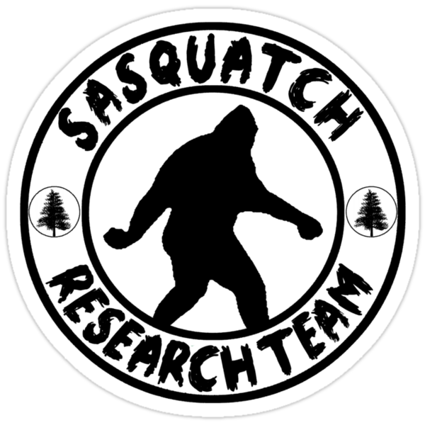 Quot Research Team Silhouette Quot Stickers By Thebigfootstore