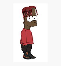 Lil Yachty / Lilboat / lil boat - Bart / Shirt , Phone case, Sticker Photographic Print