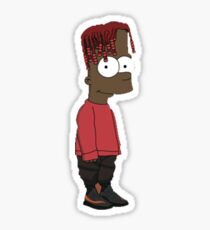 Lil Yachty / Lilboat / lil boat - Bart / Shirt , Phone case, Sticker Sticker