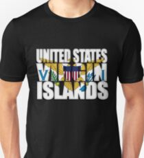 US Virgin Islands Flag Unisex T-Shirt