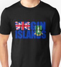 Virgin Islands Flag Unisex T-Shirt