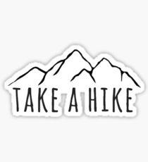 Take a Hike Mountain Sticker