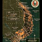 Agent Orange Spray Map by Tasty Clothing