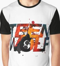 Teen Wolf Howling Wolf Graphic T-Shirt