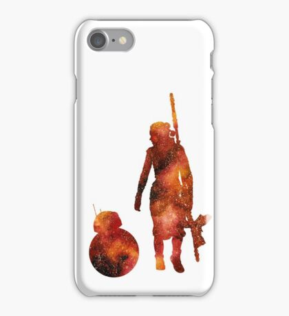 The Droid & The Girl with the Staff iPhone Case/Skin