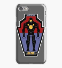 Pacific Defense Core badges iPhone Case/Skin