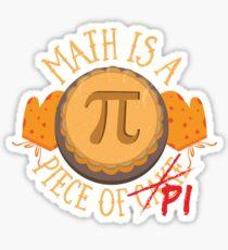 Math Pi  Sticker
