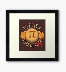 Math Pi  Framed Print