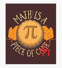 Math Pi  Photographic Print