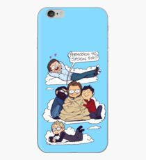 THE BAND FLUFFER iPhone Case