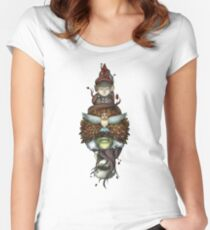 Over the Garden Wall Fitted Scoop T-Shirt