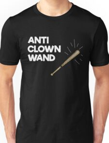Funny Anti Clown Wand Unisex T-Shirt