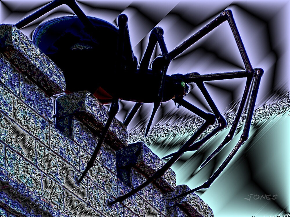 """""""Along Came A Spider"""" by Gail Jones"""