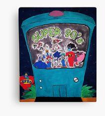 Super 90's! Canvas Print