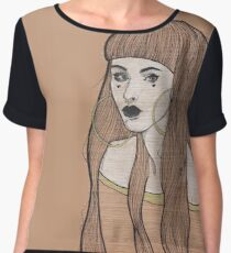 Baby Bangs Women's Chiffon Top