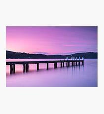 Port Arthur pier and hillside. Photographic Print