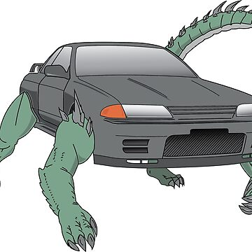 R32 Godzilla Transformer-looking-thing by carsnthings