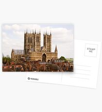 Lincoln Cathedral, Lincoln, UK Postcards