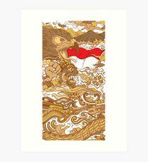 Rise of Indonesia Art Print