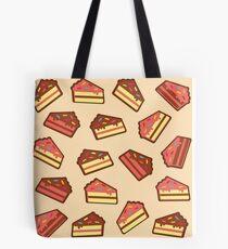 Pink Cake Pattern Tote Bag