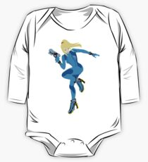 Zero Suit Samus Vector One Piece - Long Sleeve