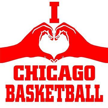 I love chicago basketball  by bharadwajreddy