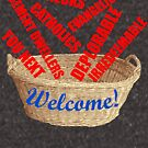 Welcome Basket Of Deplorables Catholics Rednecks by theartofvikki