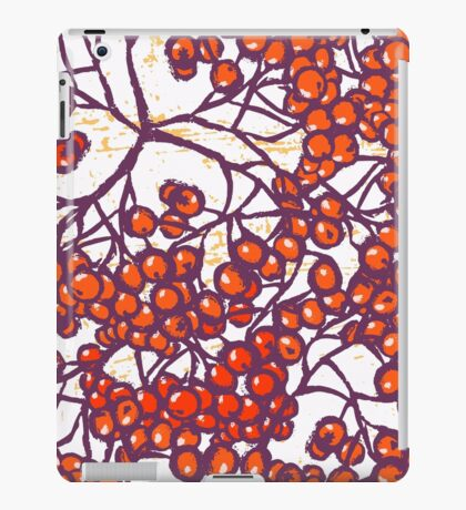 Rowanberries Fall iPad Case/Skin